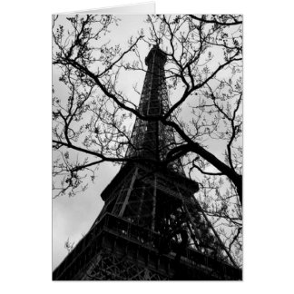 Eiffel Tower Paris Blank All Occassions Greetings Card