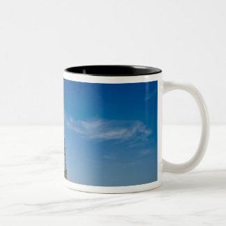 Eiffel Tower, Paris, France Two-Tone Coffee Mug
