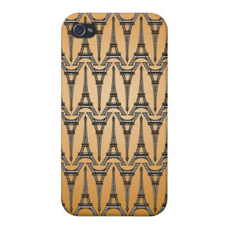eiffel tower pattern iphone case france french par iPhone 4 cover