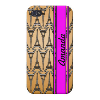 eiffel tower pattern iphone case france french par case for iPhone 4