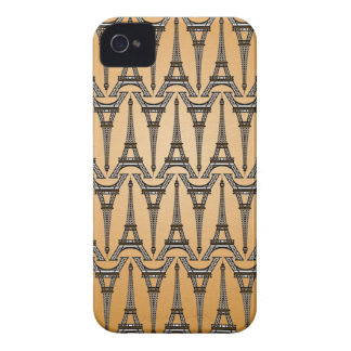 eiffel tower pattern iphone case france french par iPhone 4 covers