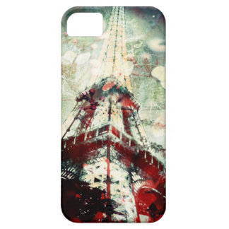 Eiffel Tower Phone Case, vintage look Barely There iPhone 5 Case