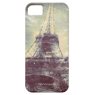 Eiffel Tower Phone Case, Vintage look iPhone 5 Cover
