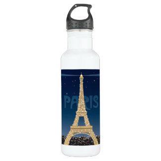 Eiffel Tower Sparkle 24 oz. 710 Ml Water Bottle