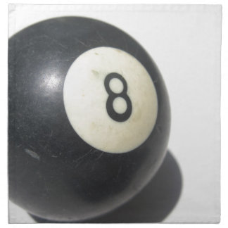Eight Ball Napkin