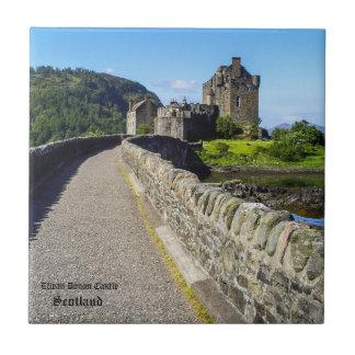 Eilean Donan Scottish Castle Tile