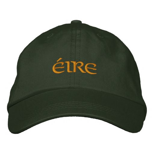 Éire (Ireland) Flexfit fitted baseball hat Embroidered Baseball Caps