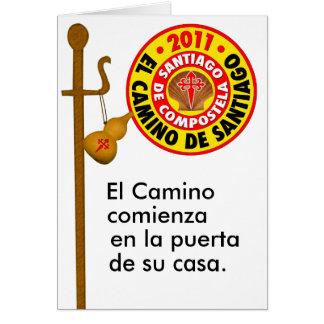 El Camino de Santiago 2011 Card
