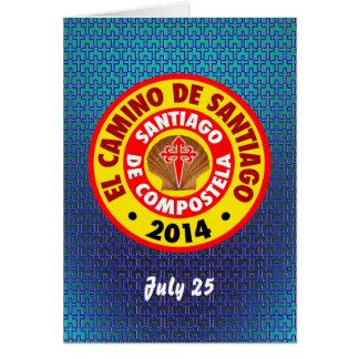 El Camino de Santiago 2014 Card