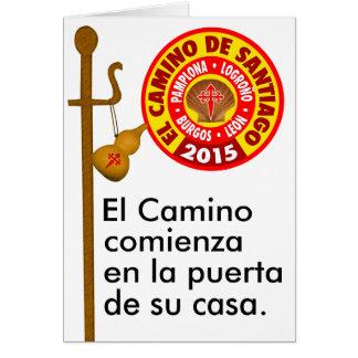 El Camino de Santiago 2015 Card