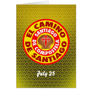 El Camino de Santiago Card