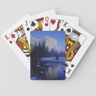 El Capitan Mountain, Yosemite National Park, Playing Cards