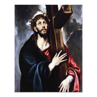 El Greco Christ Carrying The Cross Invitations