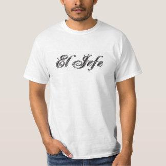El Jefe logo Estilo Style Tshirts