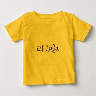 El Jefe logo tuerto funky Baby T-Shirt