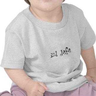 El Jefe logo tuerto funky T-shirts