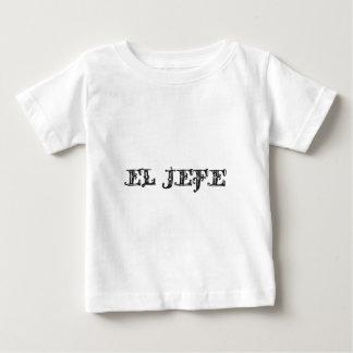 El Jefe logo Vaquero Cowboy Baby T-Shirt