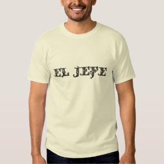 El Jefe logo Vaquero Cowboy Tee Shirt