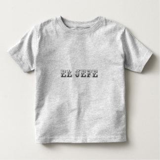 "El Jefe ""the boss"" stuff Toddler T-Shirt"