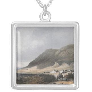 El-Mejdel  engraved by Jean Jacottet  ; Silver Plated Necklace