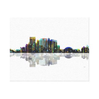 El Paso Texas Skyline Canvas Print