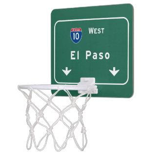 El Paso Texas tx Interstate Highway Freeway Road : Mini Basketball Hoop