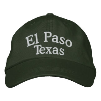 El Paso, TX Embroidered Hat