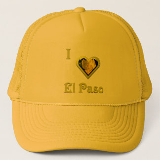El Paso -- with Yellow Flower Trucker Hat