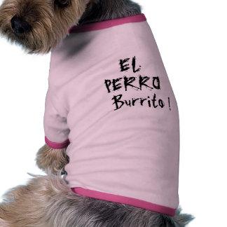 El Perro Burrito (The Dog Burrito) Ringer Dog Shirt