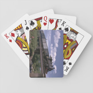 El Salvador, Fc De ES 2-8-0_Trains of the World Playing Cards