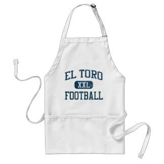 El Toro Chargers Football Adult Apron