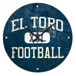 El Toro Chargers Football Wallclock