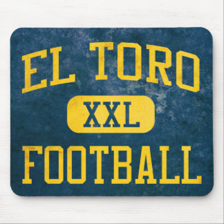 El Toro Chargers Football Mouse Pad