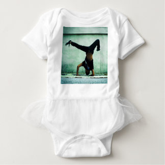 Elbow freeze cool design baby bodysuit