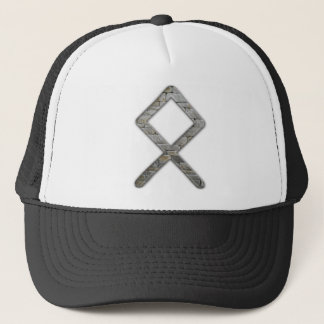 Elder Futhark Rune Odal Trucker Hat