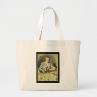 Eleanor Roosevelt White House portrait Large Tote Bag