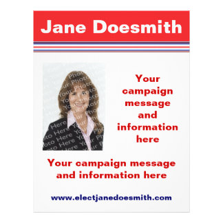 Election Campaign Flyer Template