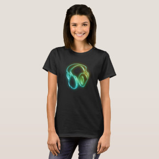 Electric Beats Headphones T-Shirt