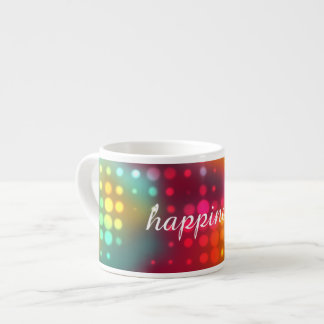 Electric Dots Customizable Espresso Cup
