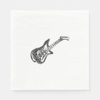 Electric Guitar Disposable Serviette