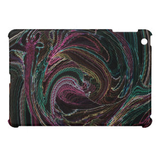 Electric Lights Rooster Abstract iPad Mini case
