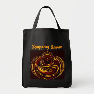 Electric Shopping Queen Grocery Tote Bag