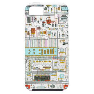 Electrical circuit iPhone 5 cover