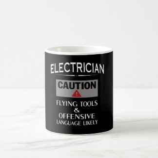 ELECTRICIAN Safety Basic White Mug