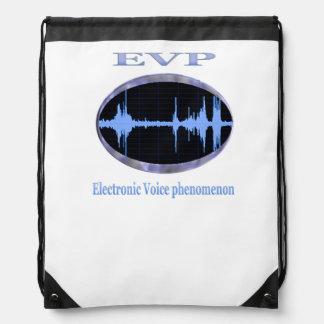Electronic Voice phenomenon products Drawstring Bag