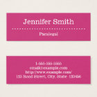 Elegant and Minimal Paralegal Business Card
