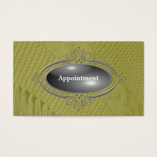 Elegant Appointment  Template Business Card