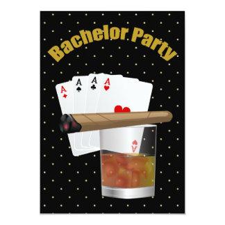 Elegant Bachelor Party Invitation