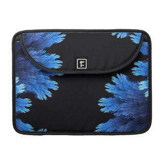 elegant blue and black sleeve for MacBook pro