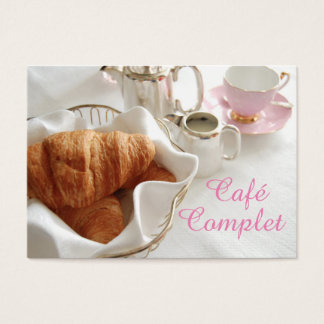 Elegant Café Business Card